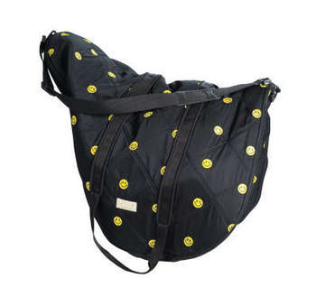 Lettia Smiley Face Saddle Bag picture