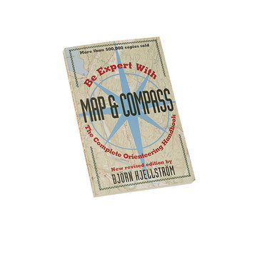 Be Expert With Map & Compass book