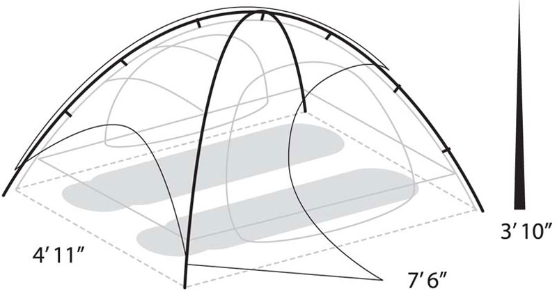 Apex 2 Tent. + Enlarge  sc 1 st  Eureka Tent & Apex 2 Person Tent | Eureka!