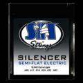 Silencer Semi Flat Electric Extra Light