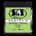 Non-Pedal Lap Steel 8-String E7th