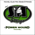 Recess Wound Nickel Bass 5-String (Extra Long)