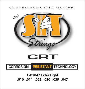 CRT Coated Phosphor Bronze Acoustic Extra Light 10-47 picture