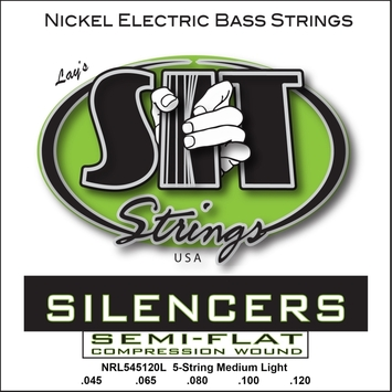 Silencer Nickel Bass 5-String Light picture