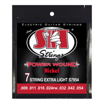 Power Wound Electric 7-String Extra Light picture