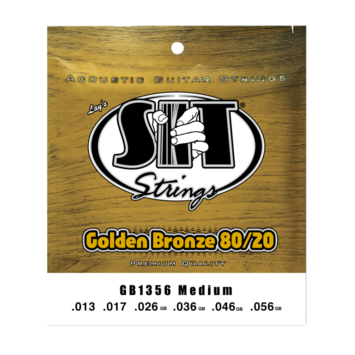 Golden Bronze 80/20 Acoustic Medium picture