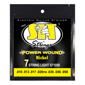 Power Wound Electric 7-String Light picture