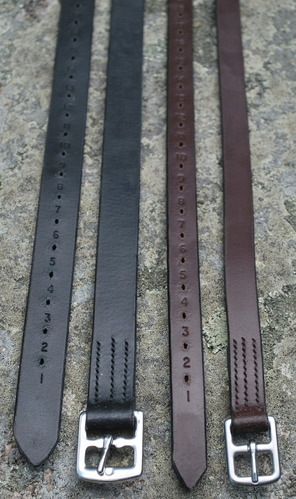 """KL STIRRUP LEATHERS 1"""" picture"""