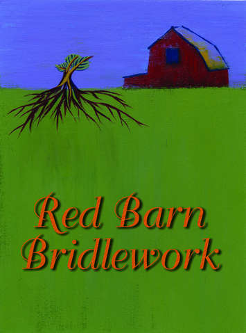 RED BARN BLACK PIN CHEEKS picture