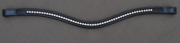 CURVED CRYSTAL BROWBAND picture