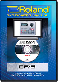 DR-3 DVD Owner's Manual picture