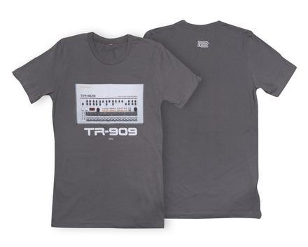 TR-909 Crew T-Shirt Asphalt LG picture