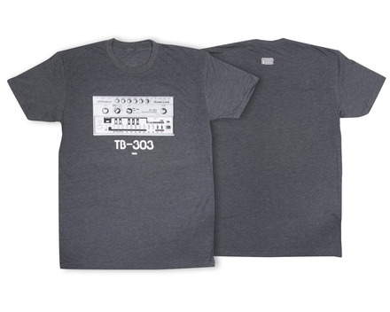 TB-303 Crew T-Shirt Charcoal LG picture