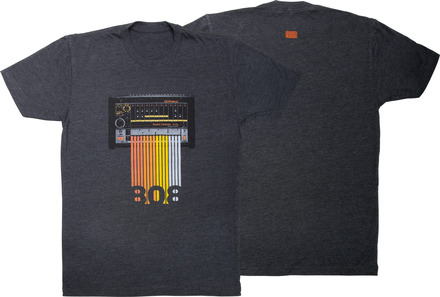 TR-808 Grey T-Shirt 2X picture