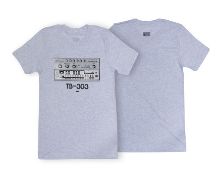 TB-303 Crew T-Shirt Grey LG picture