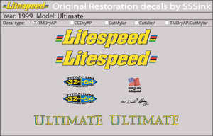 1999 Ultimate Decal Set picture