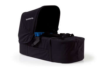 2011 Bumbleride Indie Twin Carrycot Jet picture