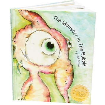 Squeek: The Monster In the Bubble StoryBook picture