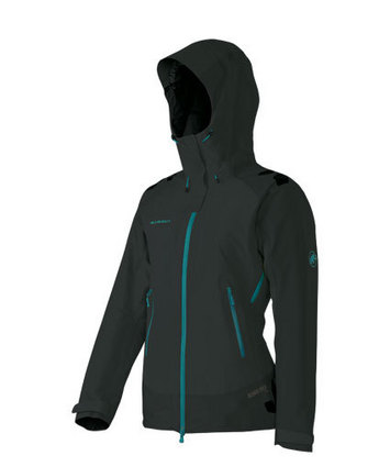 Adamello Jacket Women Black-Ocean S picture