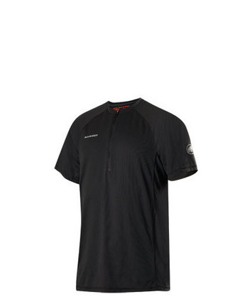 MTR 141 Zip T-Shirt Men Black S picture