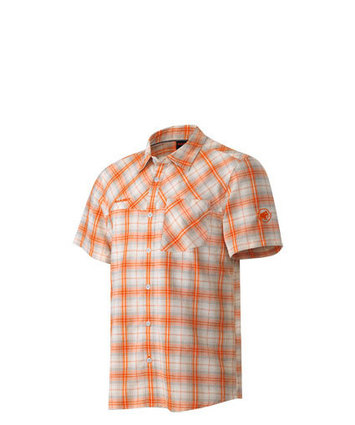 Eino Shirt Men White-Orange S picture