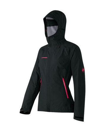 Silvretta Jacket Women Black-Raspberry S picture