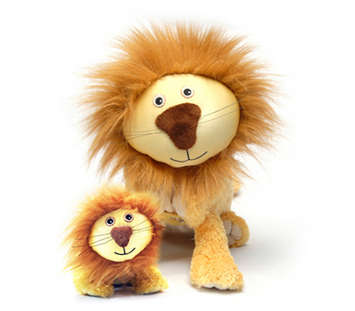 Lencho the Lion™ with Mini Plush™ picture