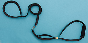 "3/16"" Black Cordo-Hyde Spinner Lead picture"