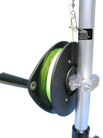 Planer Board Mast, Single reel 3 ft. system picture