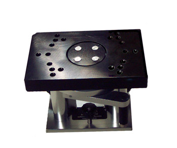 Swivel Mount Base, rotating with gear lock picture