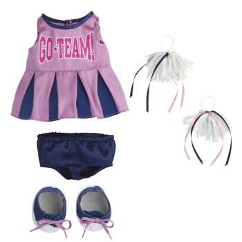 Rosy Cheeks™ Big Sister Cheerleading Outfit Set picture