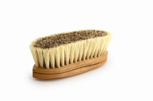 Legends Trad. 8 1/4 Dual Fiber Curved Back Brush picture