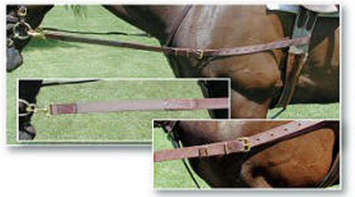 Nunn Finer Nylon Side Reins with Elastic picture
