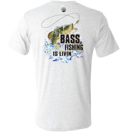 Evinrude evinrude bass fishing tee t shirts for Bass fishing shirt