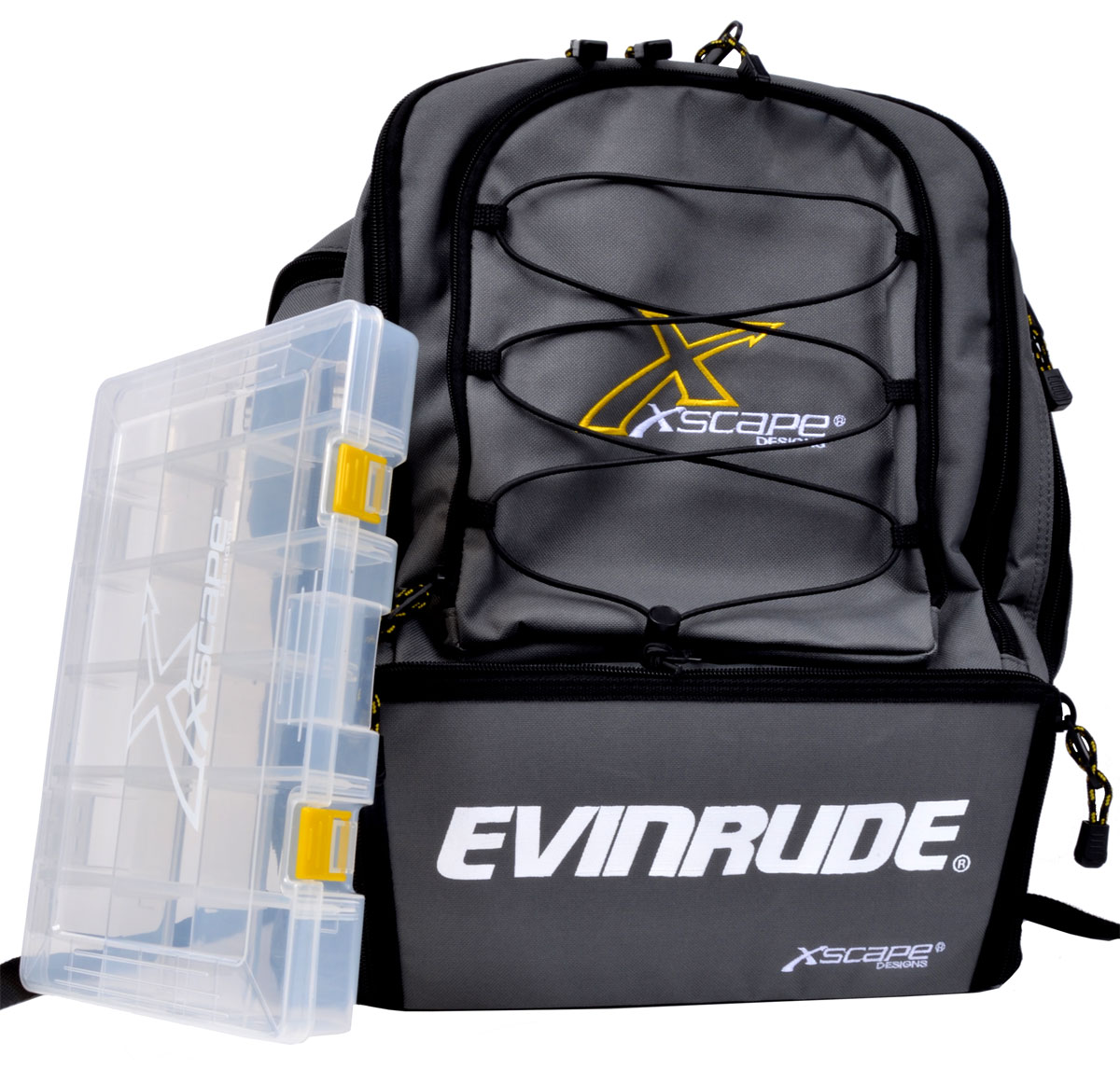 Buy fishing gear online at evinrude for Fishing backpack tackle bag