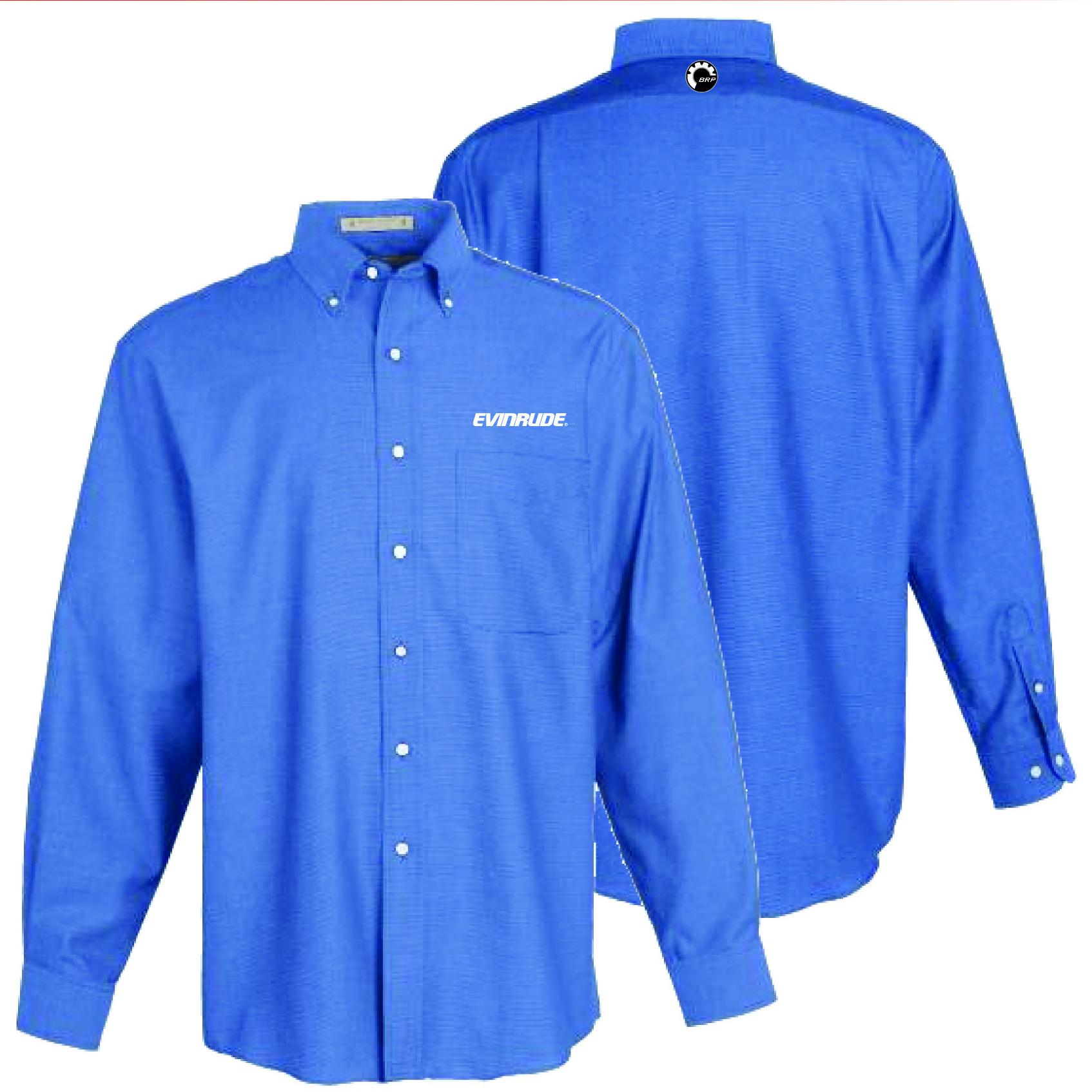 evinrude men 39 s french blue oxford shirt shirts