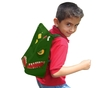 Neat-Oh!® ZipBin® Dinosaur Bring Along Backpack (Dark Green) additional picture 1