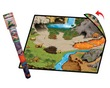 Neat-Oh!®  Dinosaur Prehistoric World 2-Sided Playmat additional picture 3