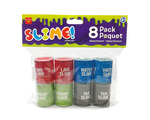 SLIME! 8 Drum Set - Includes: Tar, Lava, Swamp and Water Slimes