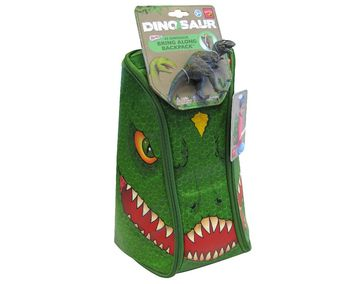Neat-Oh!® ZipBin® Dinosaur Bring Along Backpack (Dark Green) picture