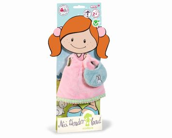 Dress short w. handbag for 30cm doll plush picture