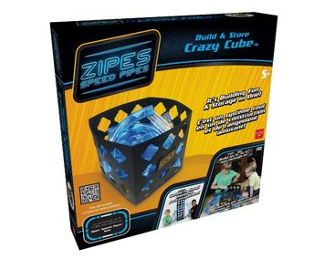 Zipes® Speed Pipes Build & Store Crazy Cube picture