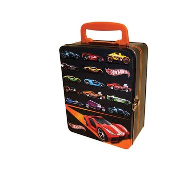Hot Wheels™ Neat-Oh!® 18 Car Black Tin Carrying Case picture