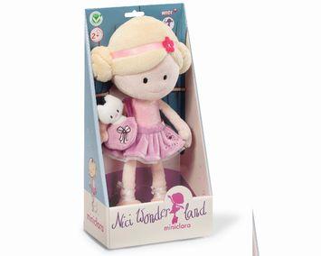 Doll - MiniClara 30cm dangling plush with handbag picture