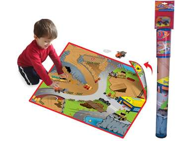 Neat-Oh!® Full Throttle™ Construction Zone 2-Sided Playmat picture