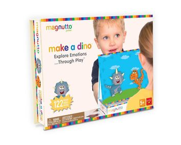 Neat-Oh!® Magnutto™ - Make a Dino - Educational Magnetic Activity picture