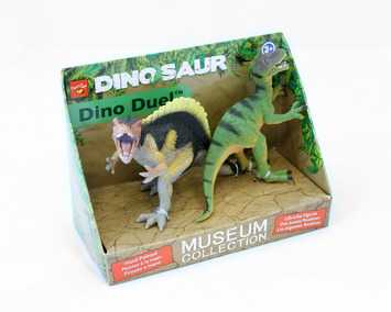 Dino Duel™ Spinosaurus & Velociraptor picture