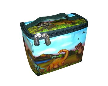 Neat-Oh!® ZipBin® 20 Dinosaur Tote w/2 dinosaurs picture