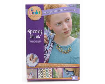 Linkt® Craft Kits - Spinning Halos (5 Necklace + Earring Set) picture