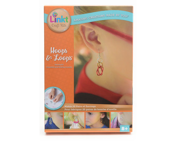 Linkt™ Craft Kits - Hoops & Loops (20 Earrings Collection) picture